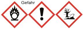 Gefahrgut-Zeichen GHS