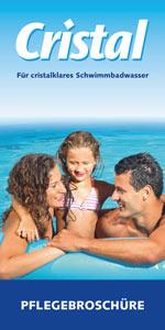 Cristal Wasserpflege Pflegebroschüre zum Download bei POOL Total