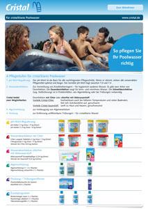 Cristal Wasserpflege für Pools Ratgeber