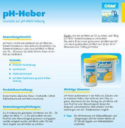 Informationsblatt pH Heber