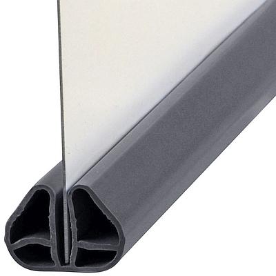 Bild Bodenschiene mit Stahlwand