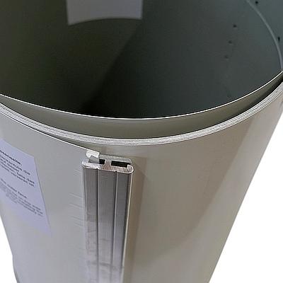 Bild Stahlwand-Steckprofil