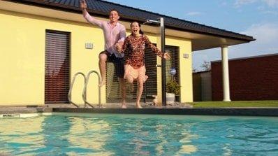 Schwimmbecken-Swimmingpool
