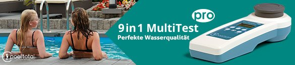 POOL Total 9 in 1 MultiTest PRO für perfekte Wasseranalyse