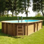 Holz Pool-SET