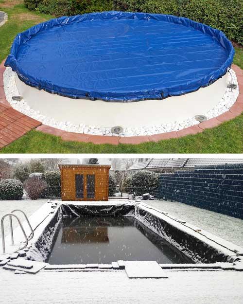 Pool - Schwimmbad - Außenpool richtig einwintern