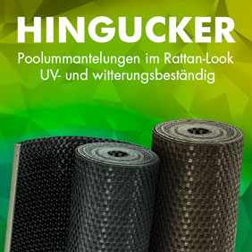 Rattan Poolumrandungen von POOL Total