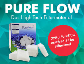 PureFlow - Das High Tech Filtermaterial bei POOL Total