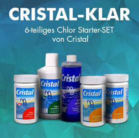 Cristal Starter-SET Chlor