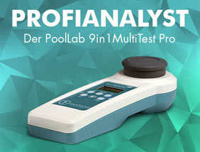 Der Poollab 9 in 1 MultiTest Pro von POOL Total