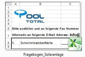 Excel Vorlage für Planung
