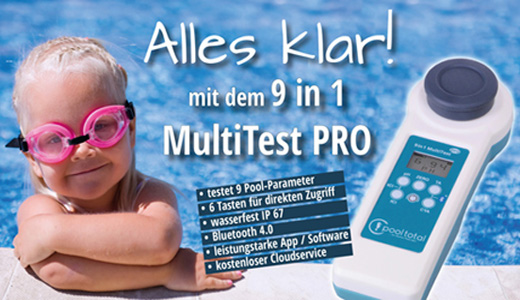 POOL Total 9 in 1 MultiTest PRO Photometer