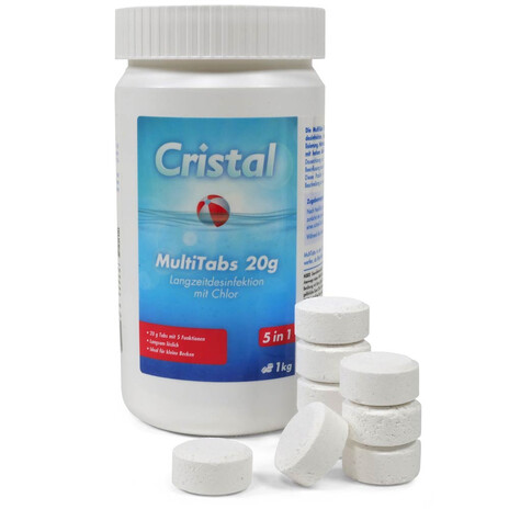 CRISTAL MultiTabs Chlor 5 in 1 (20 g) 1,0 kg