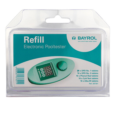 BAYROL Refill für Electronic Pooltester