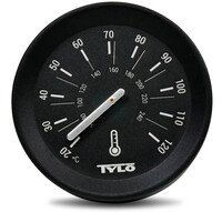 Tylö Thermometer Brilliant Black