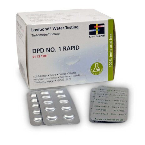 Lovibond DPD 1 Rapid Tabletten