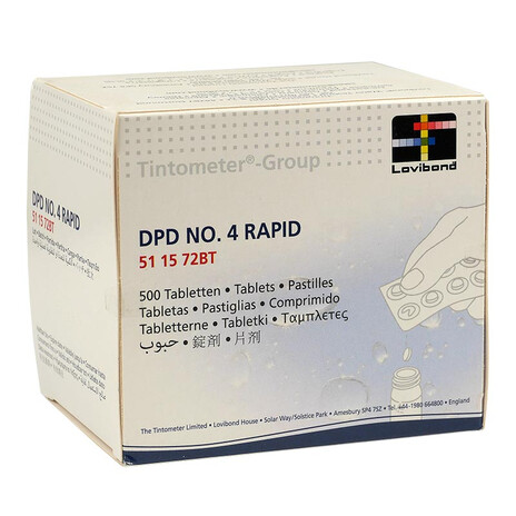 Lovibond DPD 4 Rapid Tabletten