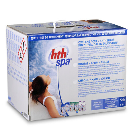 hth SPA Kit Sauerstoff 7,6 kg