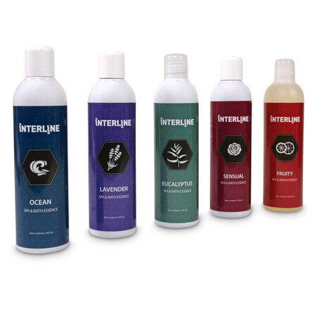Interline Spa & Bath Essence in 4 Duftnoten