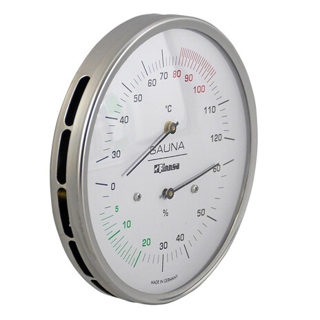 Finnsa Sauna Luxus Thermo- Hygrometer 130 mm