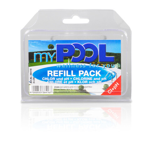 myPOOL Chlor/pH Refill Pack 2x30 Tabletten