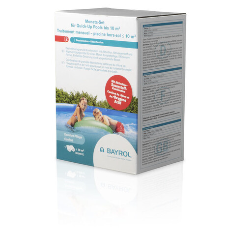 BAYROL Monats-Set für Quick-Up Pools bis 10 m³