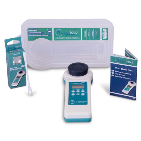 POOL Total SET 9 in 1 MultiTest PRO + Refill Pack