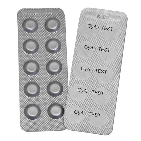 CyA-Test Photometer Tabletten 100 Tabletten (10 Streifen)