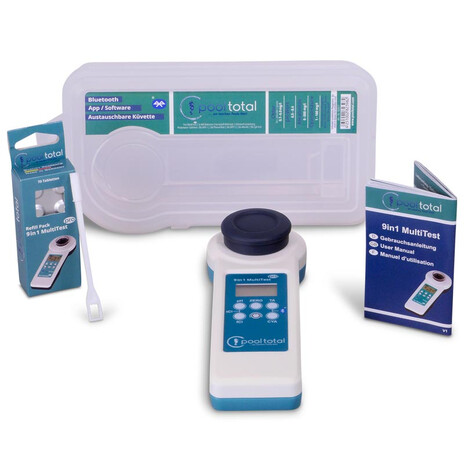 POOL Total SET 9 in 1 MultiTest PRO + Refill Sauerstoff