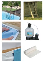 Lieferumfang des Poolsets